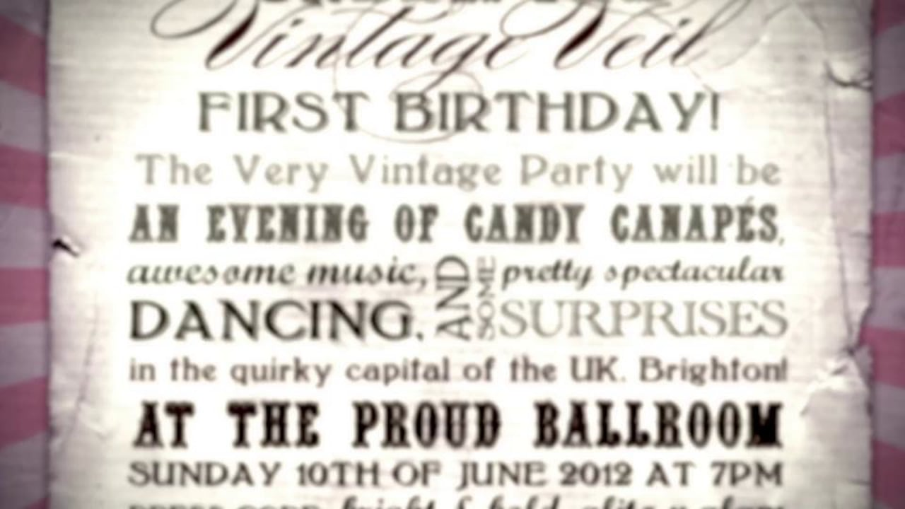 Under the Vintage Veil celebrates first birthday of the blog with glam bash in Brighton