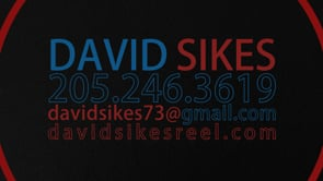 David Sikes - Motion Graphics & Color Grading