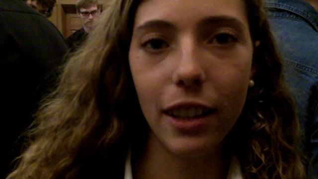 Natalia talks about the Arms Trade Treaty