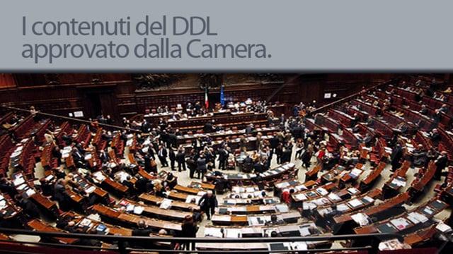 I contenuti del Ddl approvato alla camera - 22/6/2012