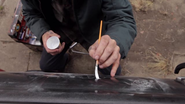 Jack Daniel's Independence Artist Project - Derek McDonald, Sign Painter