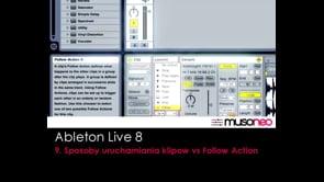 Sposoby uruchamiania klipow i funkcja Follow Action