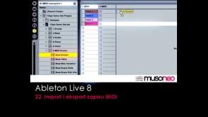 Import i eksport zapisu MIDI