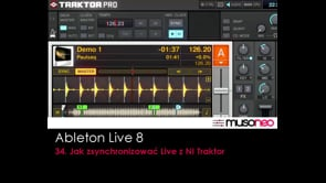 Jak zsynchronizować Live z NI Traktor