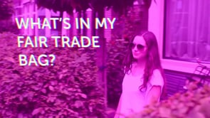 What's in my FairTrade bag?