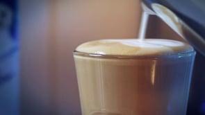 Making a Caffè Latte