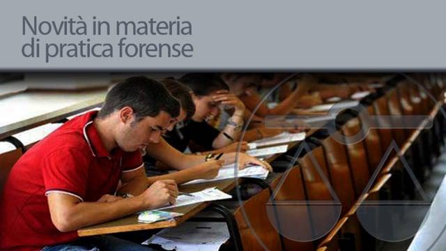 Novità in materia di pratica forense - 10/7/2012