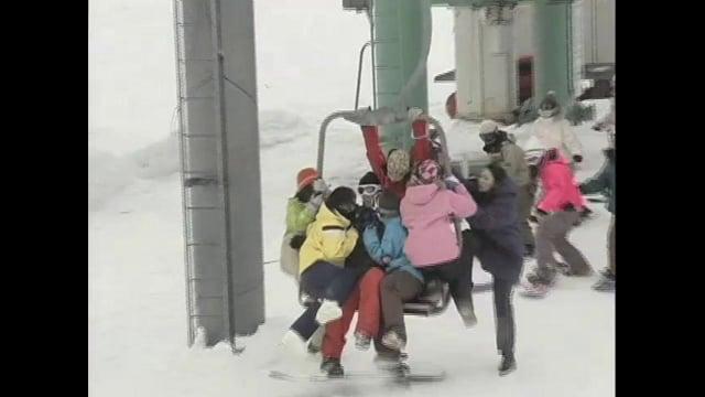 Axe Snowboarder