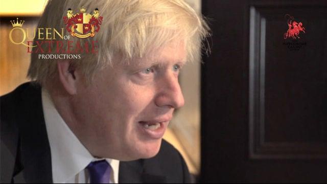 Mayor of London Boris Johnson officially opens the Hippodrome casino