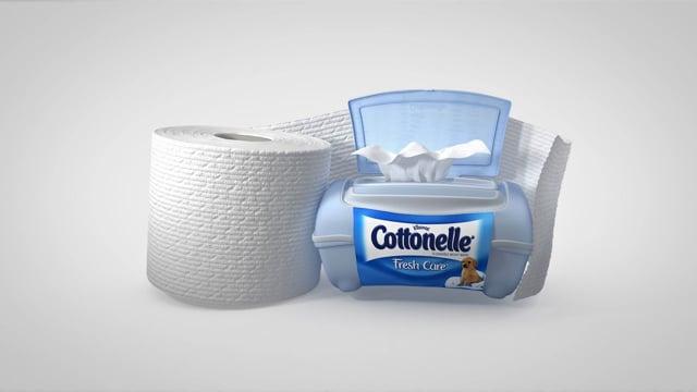 Cottonelle Fresh Care Tag