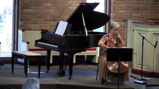Bach Unaccompanied Suite #1