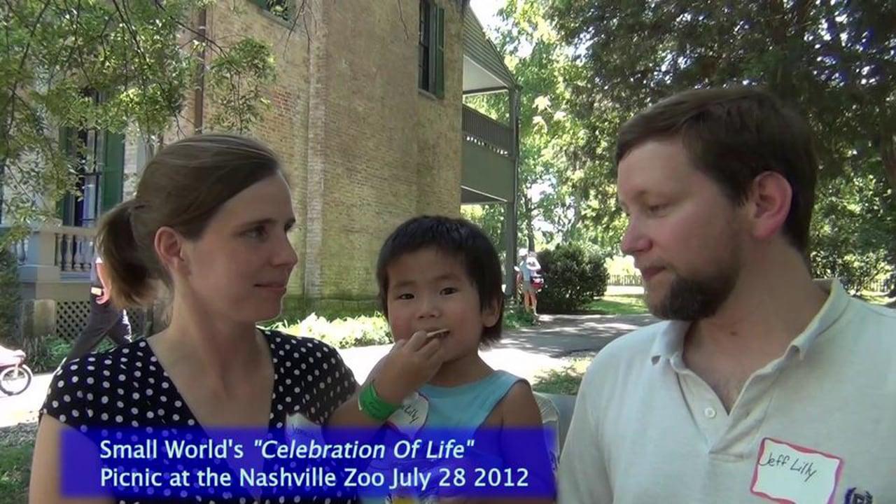 """Celebration of Life"" picnic Jeff and Joanie"