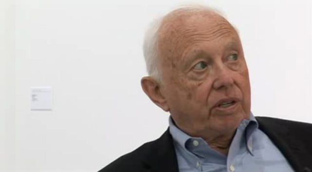 Ellsworth Kelly discusses how his practice was shaped in 1940s Paris