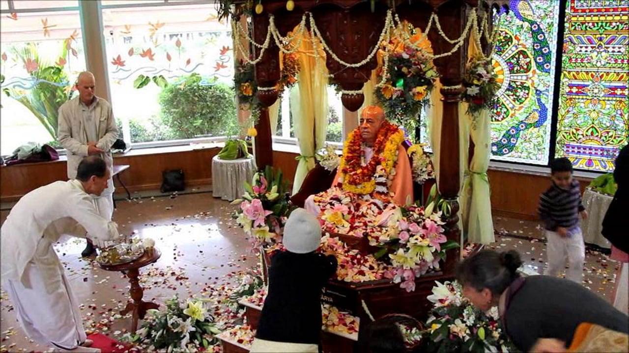 Srila Prabhupada Vyasa Puja 2012