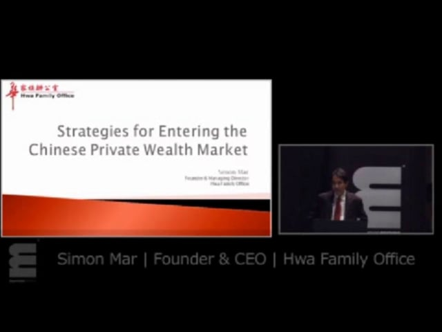 Simon Mar, Hwa Family Office on looking to the East for solutions to surmounting the structural obstacles of the West