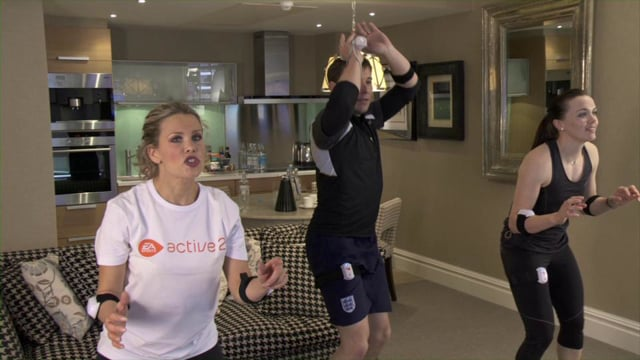 KEEPING FIT WITH EA SPORTS ACTIVE 2