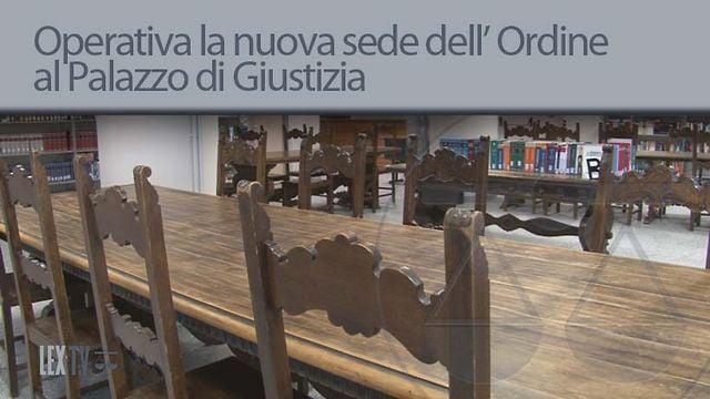 Operativa la nuova sede dell' Ordine - 24/8/2012