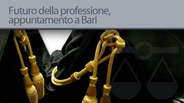 Il futuro della professione, appuntamento a Bari - 24/9/2012