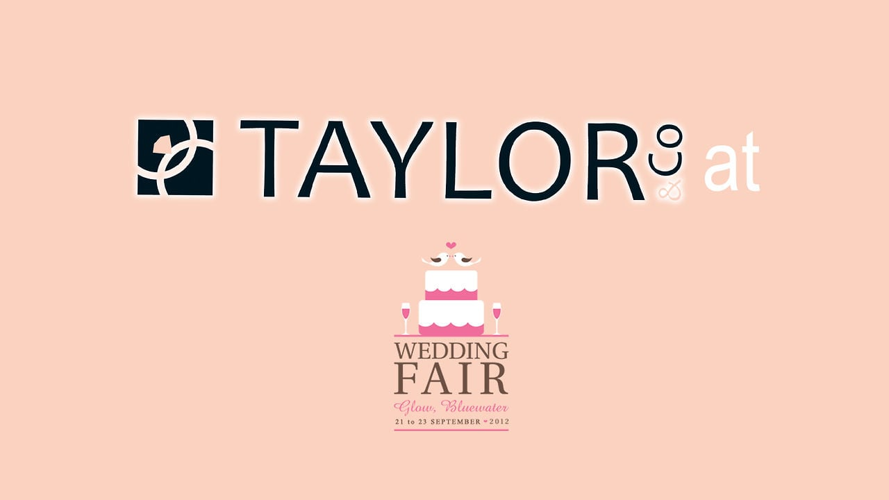 Taylor&Co exhibit at the Bluewater Wedding Fair, September 2012