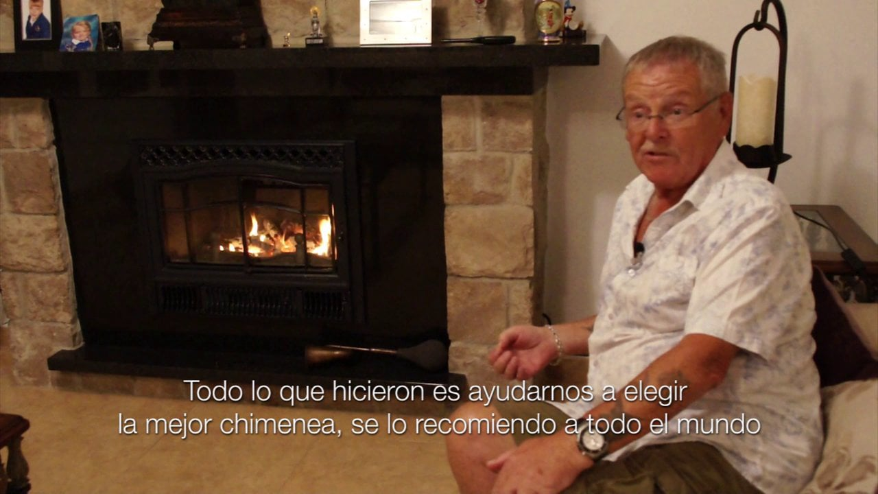 Opinión de clientes ingleses de Chimeneas Sirvent en Alicante
