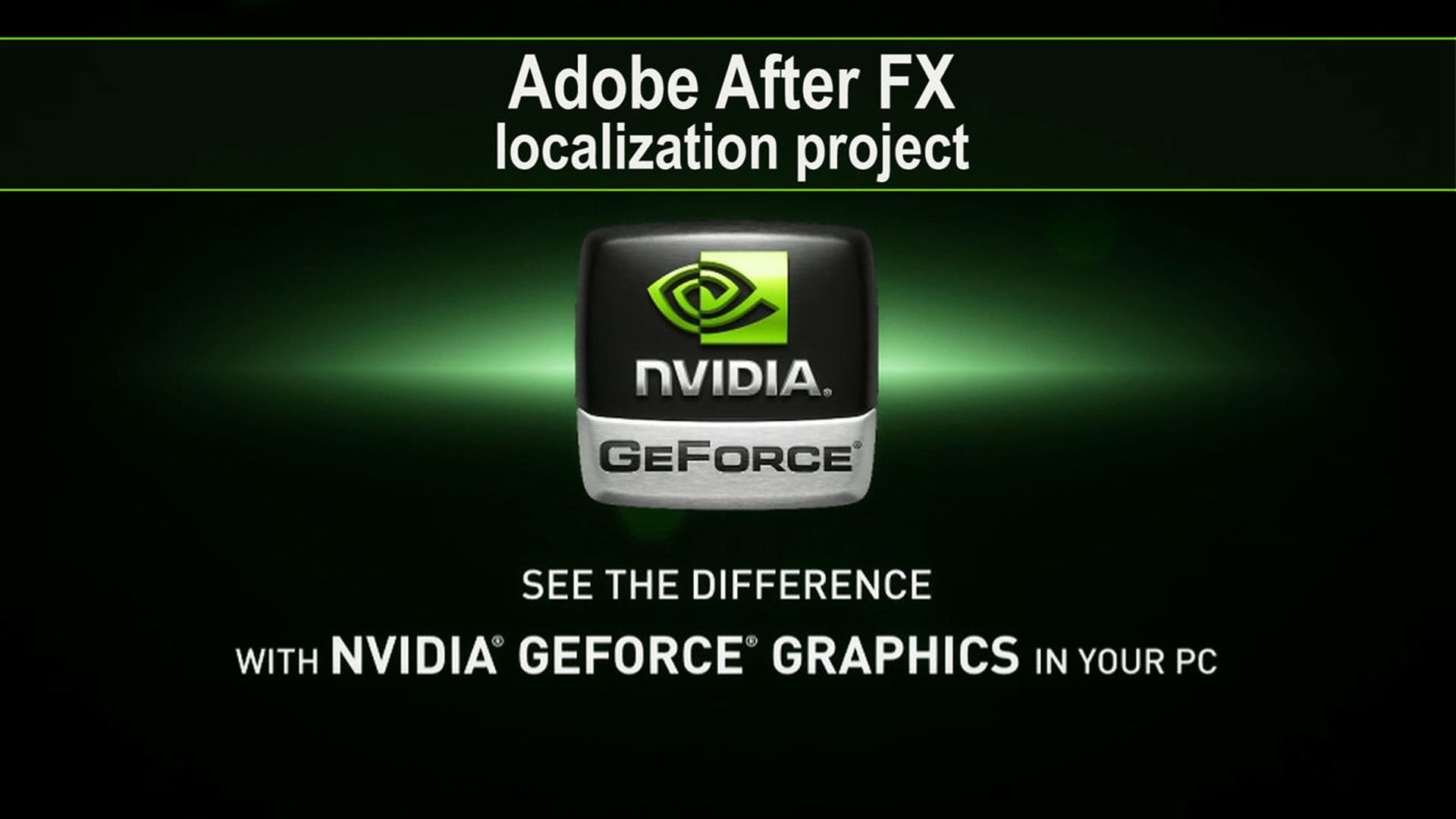 Nvidia GeForce Graphics