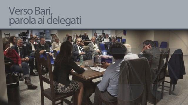 Verso Bari, parola ai delegati - 15/10/2012