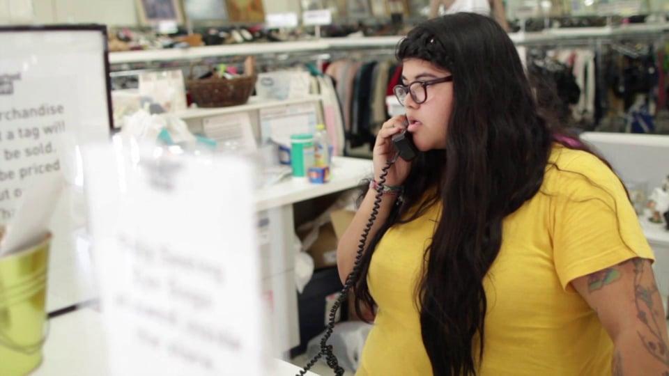 Neighborhood Thrift // Erica - An Employee