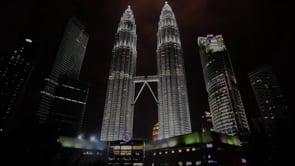 Weekend with Two Towers. Kuala Lumpur, Malaysia