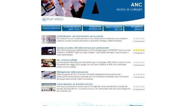 Nasce ANCWEBTV
