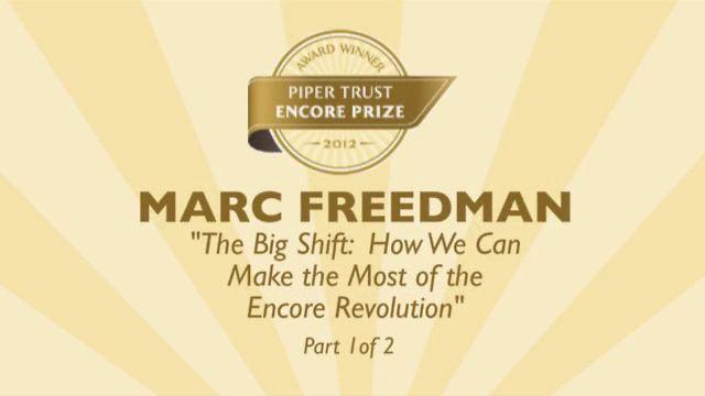 Encore Prize - Marc Freedman