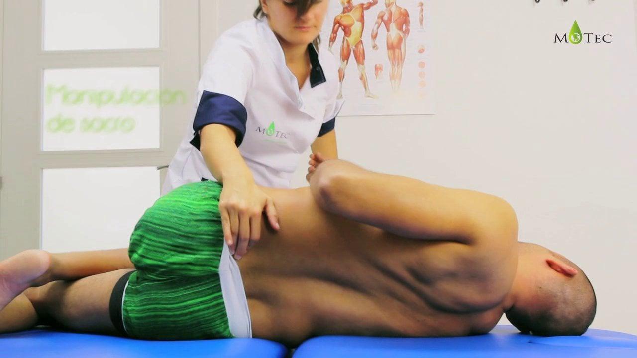osteopatia manipulación sacro