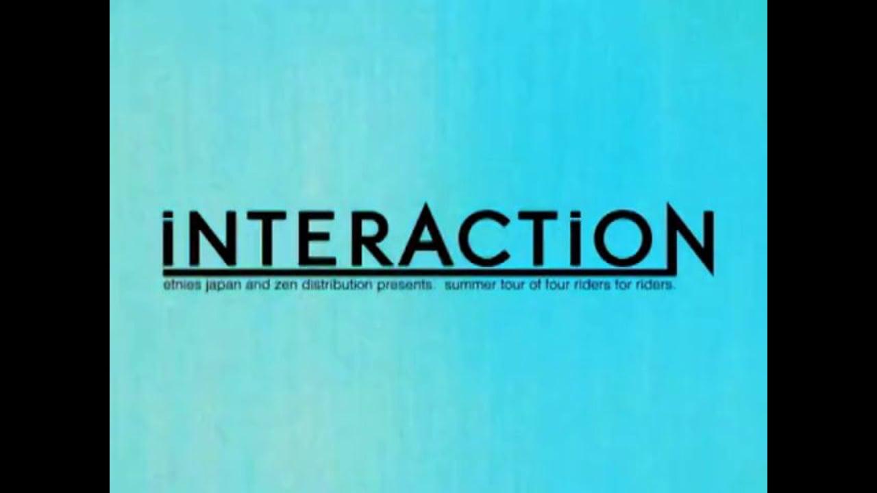 """Etnies Japan team summer tour 2011 """"INTERACTION"""" DVD Full length"""