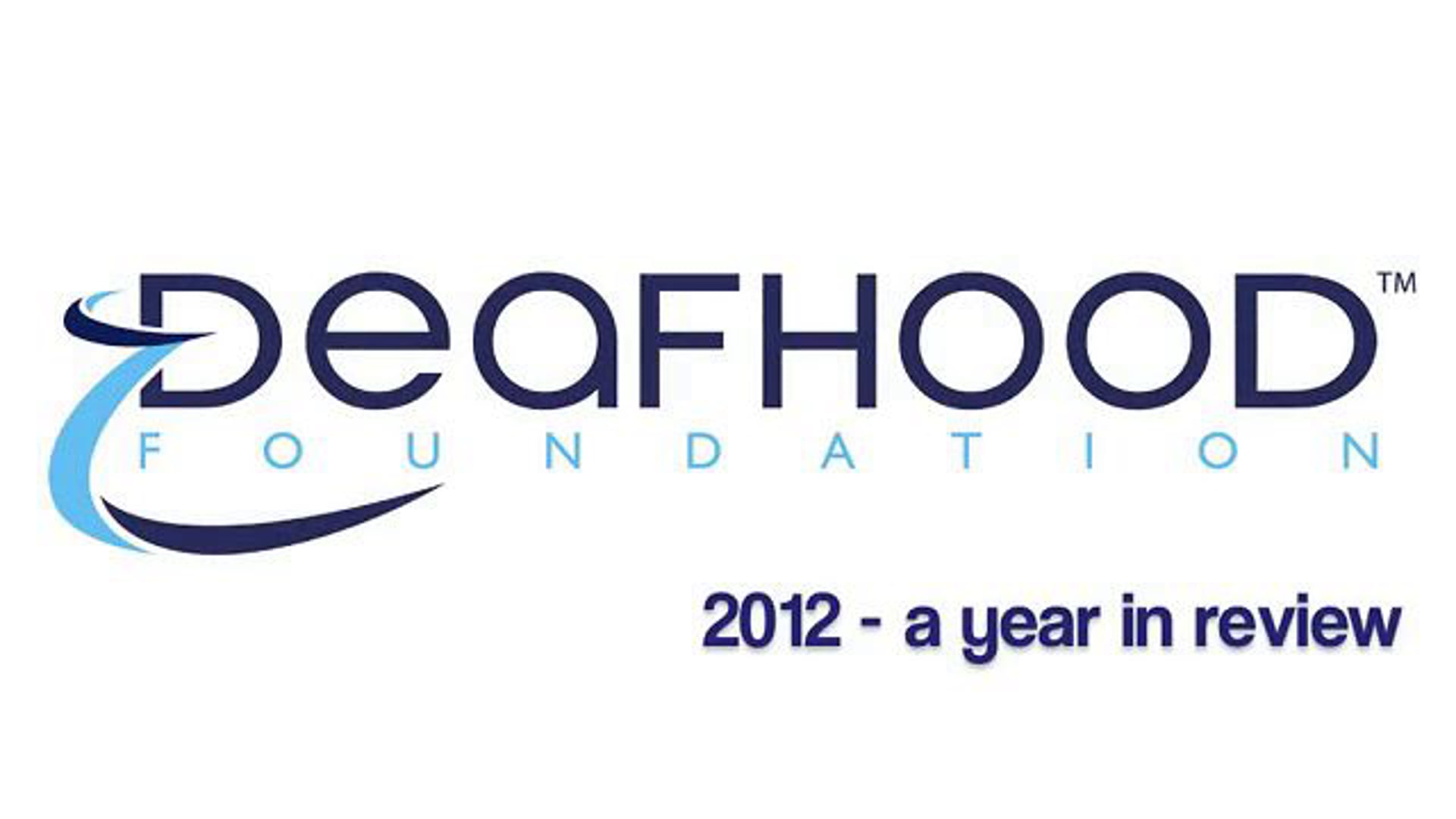 DHF 2012 YearEnd Report