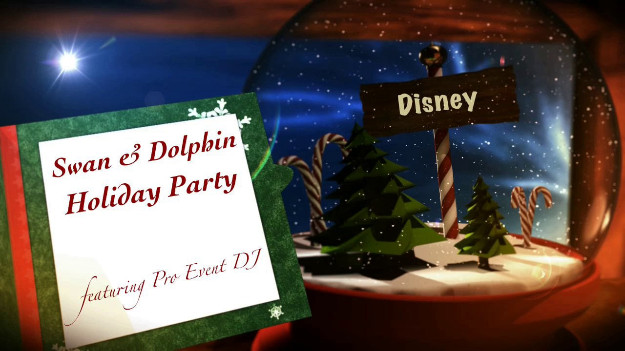 Swan & Dolphin Cast Holiday Party