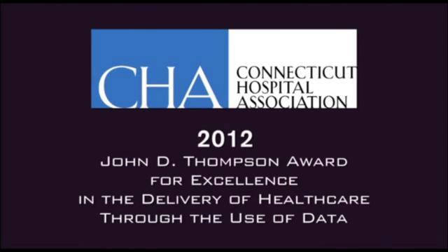 2012 CHA John D. Thompson Award