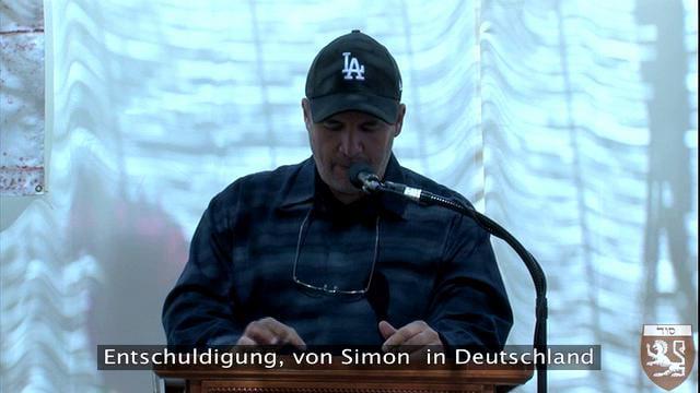 Fragestunde zum Vortrag über Kabbalah und Christentum mit Billy Phillips und deutschen Untertiteln