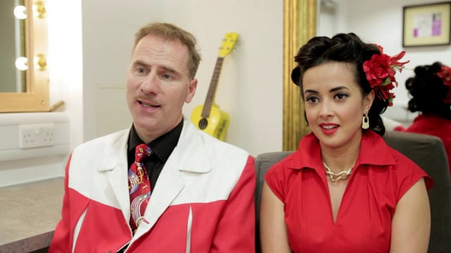 An interview with Ian Clarkson and Rebecca Grant of the Jive Aces