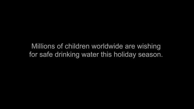 Black Tent: Children's Safe Drinking Water Holiday Web Video