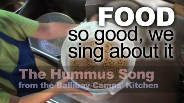 About Camp Food - The Hummus Song