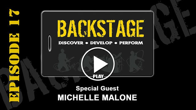 Michelle Malone on Backstage EP17
