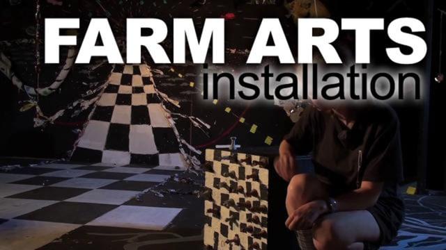 Farm Arts Camp - Installation Art