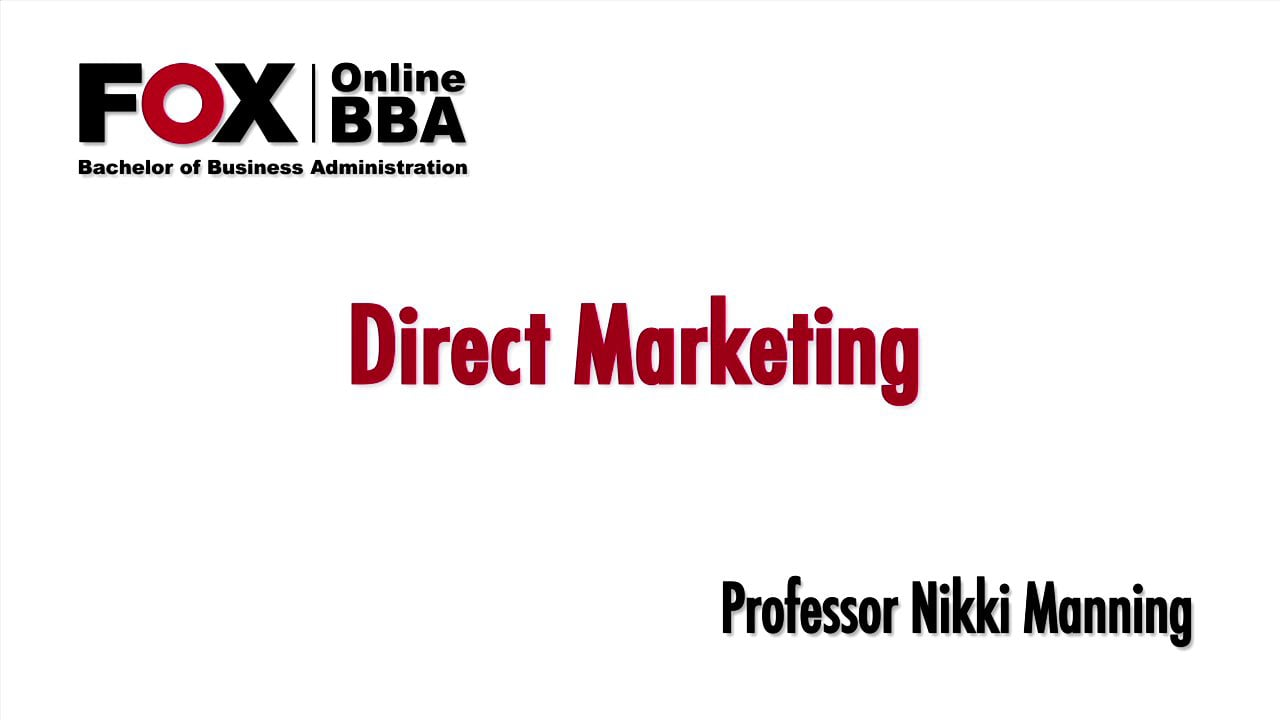 57016Direct Marketing Overview