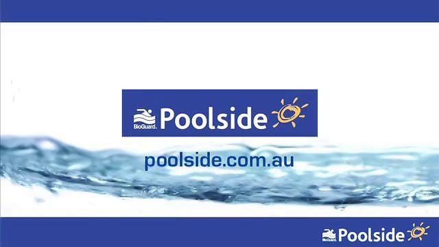Poolside in-store video