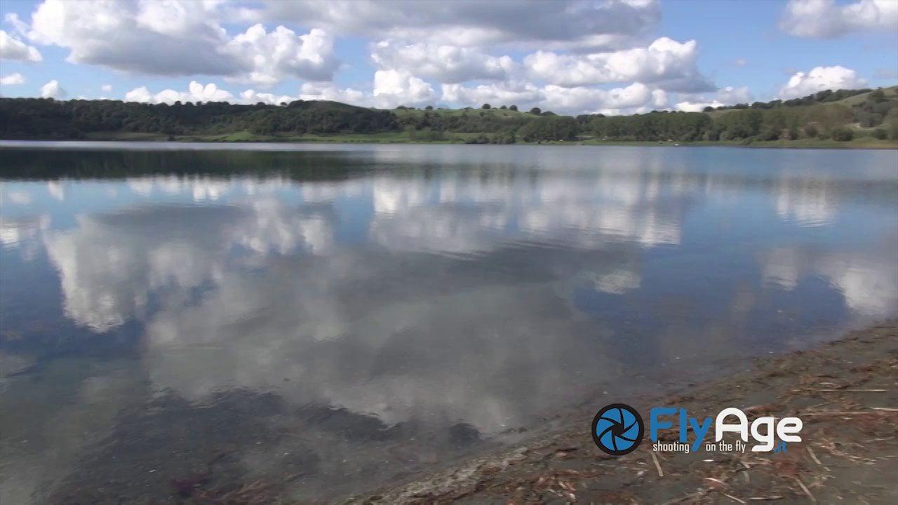 Lago di MArtignano dal drone Fly Age