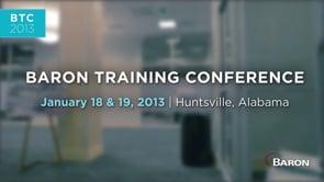Baron Services - Spring Training 2013