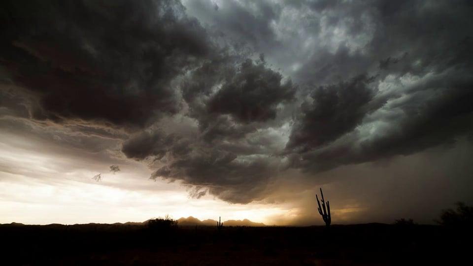 The Arizona Monsoon in Timelapse (2012)