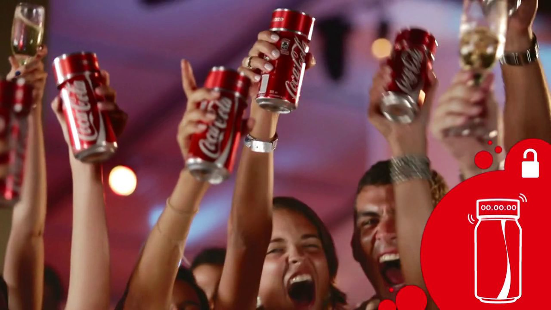 Primeira Coca-Cola do Ano   Reveillon