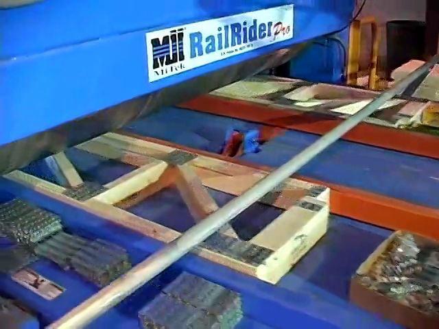 Press Roller Floor Truss RailRider