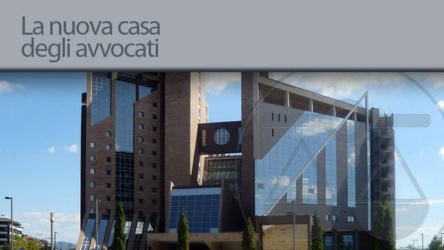 La nuova casa degli avvocati - 13/2/2013
