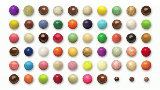 Chocolate malted milk balls